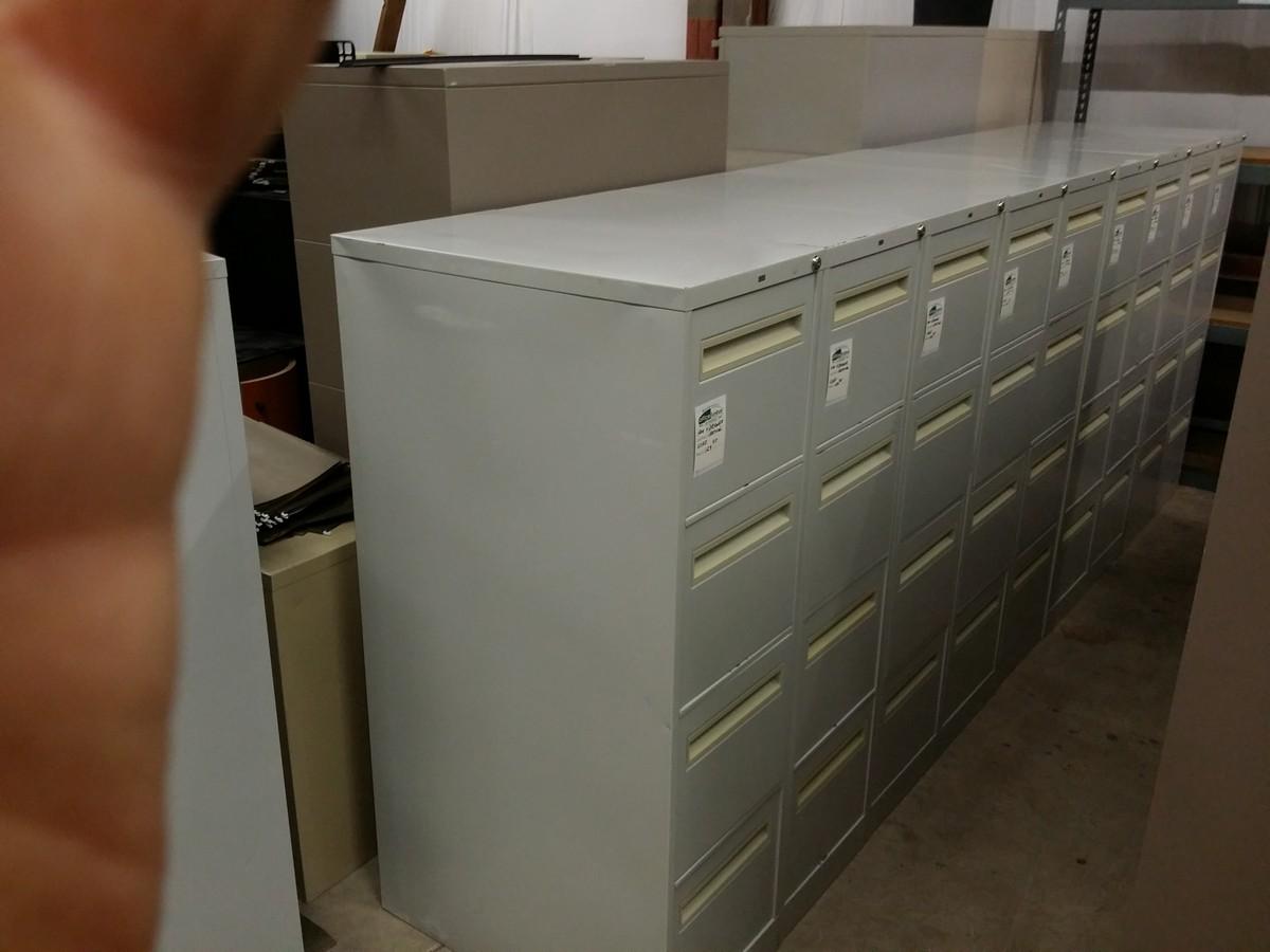 Hon 4 Drawer Vertical File Cabinet